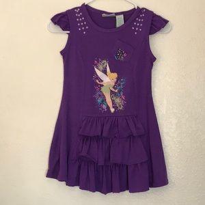 4/12$💙💚 Disney Tinkerbell Dress
